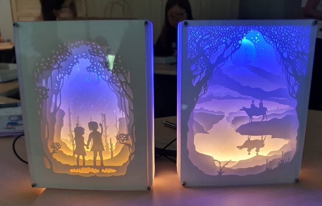 Create Your Own 3D Lightbox