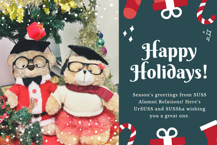Season's Greetings from UrSUSS and SUSSha